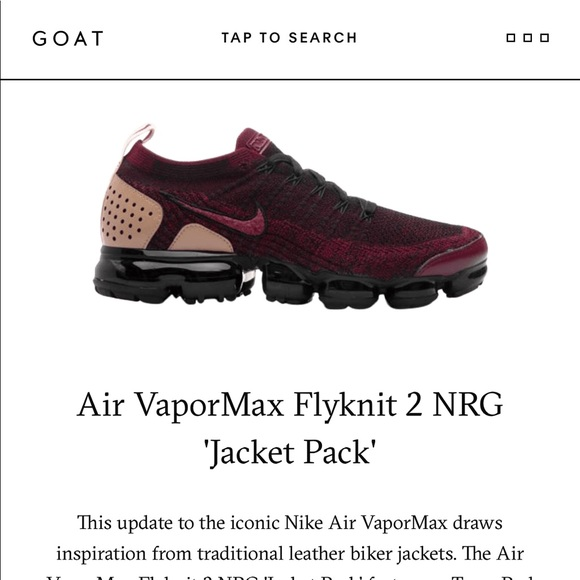 246609de63 Nike Shoes   Air Vapormax Flyknit 2 Nrg Jacket Pack   Poshmark
